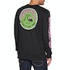 Quiksilver Daily Wax Long Sleeve T-Shirt - Black