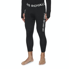 Mons Royale Shaun-off 3 Quarter Base Layer Leggings - Black