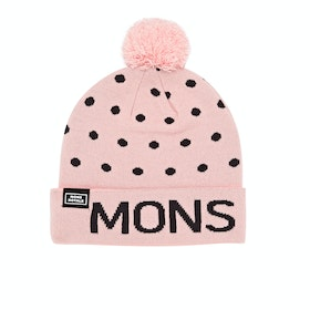 Mons Royale PomPom Beanie - Rosewater 9 Iron