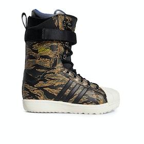 Adidas Snowboarding Superstar Adv Snowboard Boots - Core Black Night Cargo Raw Desert