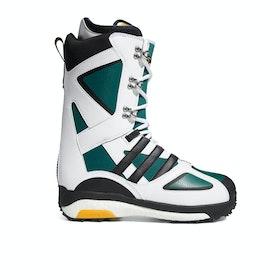 Adidas Snowboarding Tactical Lexicon Adv Snowboard Boots - FTWR White Core Black Collegiate Green