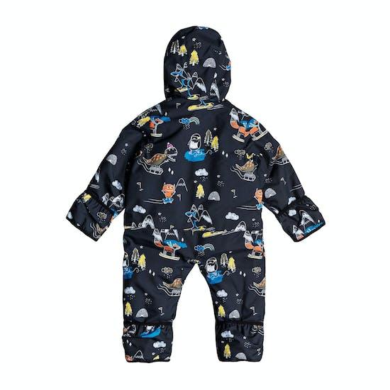 Quiksilver Print Baby Snowsuit