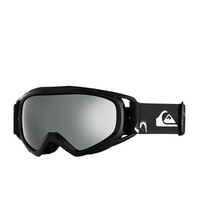 Quiksilver Eagle Boys Snow Goggles - Black Snow Party ~ Silver Mirror