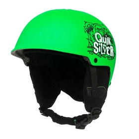 Quiksilver Empire Boys Ski Helmet - Neon Green