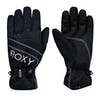 Roxy Jetty Solid Snow Gloves - True Black