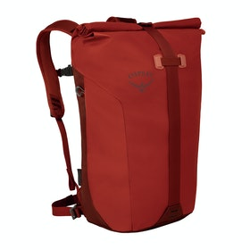 Osprey Transporter Roll Backpack - Ruffian Red