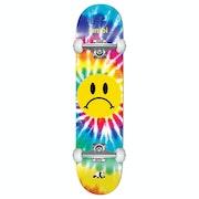 Enjoi Frowney Tie Dye Fp Comp Skateboard