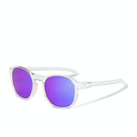 Sweet Heat Sunglasses - Crystal White ~ Rig Sapphire
