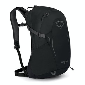 Osprey Hikelite 18 Hiking Backpack - Black