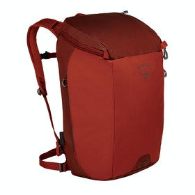 Osprey Transporter Zip Backpack - Ruffian Red