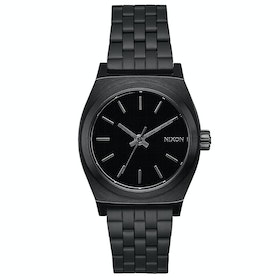 Nixon Medium Time Teller 31mm Womens Watch - All Black