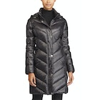Ralph Lauren Chevron Hood Soft Down Jacket