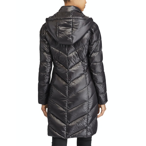 Lauren Ralph Lauren Chevron Hood Soft Down Bunda