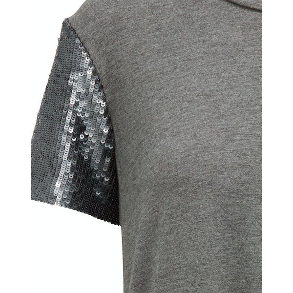 Ralph Lauren Jersey Sequin Sleeve Women's Top