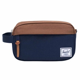 Herschel Chapter Carry On Washbag - Peacoat Saddle Brown