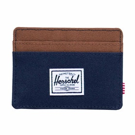 Herschel Charlie ウォレット - Peacoat/saddle Brown