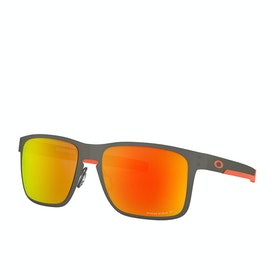Oakley Holbrook Metal Sunglasses - Matte Gunmetal~prizm Ruby Polarized