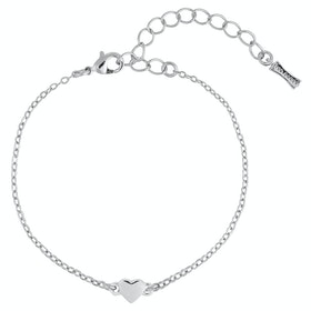Ted Baker Harsa Tiny Heart Bracelet - Silver
