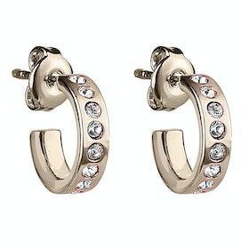 Ted Baker Seeni Mini Hoop Huggie Earrings - Gold Crystal