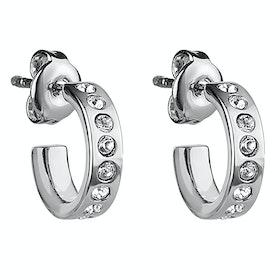 Ted Baker Seeni Mini Hoop Huggie Earrings - Silver Crystal