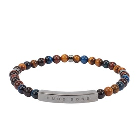 BOSS Bale Men's Bracelet - Medium Brown