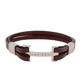 BOSS Buck Men's Bracelet - Medium Brown