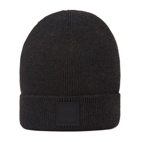 BOSS Foxx Knitted Men's Beanie - Black