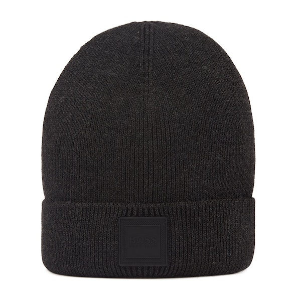 BOSS Foxx Knitted Heren Beanie