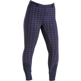 Firefoot Farsley Sticky Bum Ladies Riding Breeches - Navy