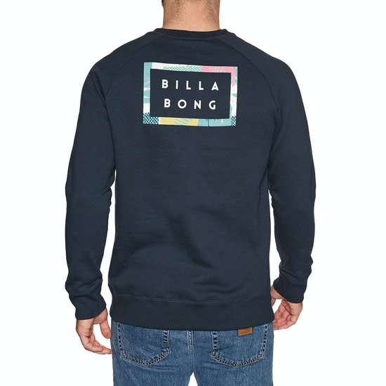 Billabong Die Cut Theme Crew Sweater