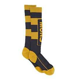 Mons Royale Tech Cushion Socks - Iron Gold