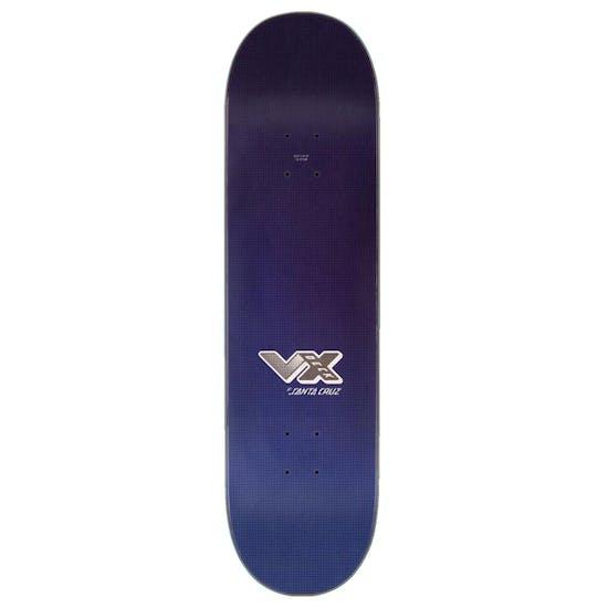 Santa Cruz Vx Flash Hand Skateboard Deck