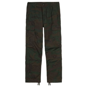 Carhartt Regular Cargo Pants - Camo Evergreen