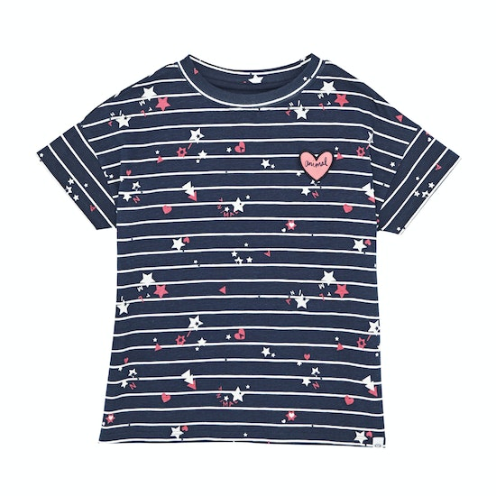 Animal Astral Deluxe Graphic Girls Short Sleeve T-Shirt