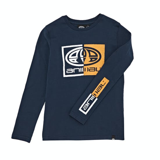 Animal Board Boys Long Sleeve T-Shirt