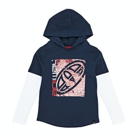 T-Shirt à Manche Longue Animal Fargo Hooded - Indigo Blue