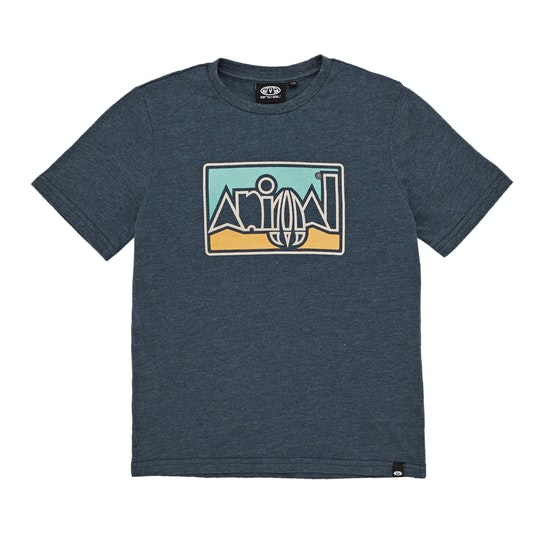 Animal Retro Graphic Boys Short Sleeve T-Shirt