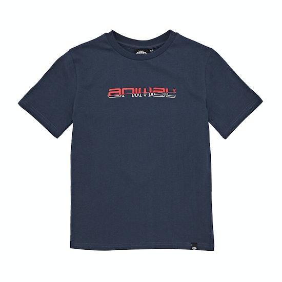 Animal Sketchy Graphic Boys Short Sleeve T-Shirt