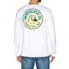Quiksilver Daily Wax Long Sleeve T-Shirt - White
