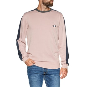 Sweat Billabong Wave Washed Crew - Pink Haze