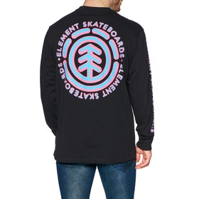 Element Chrome Long Sleeve T-Shirt - Flint Black