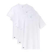 Lacoste Crew Neck Essentials Multi Pack Loungewear Tops
