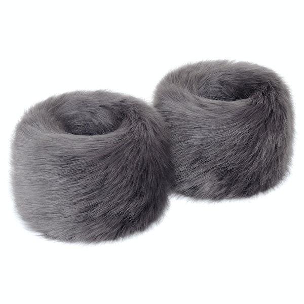 Helen Moore Wrist Faux Women's Fur Cuffs
