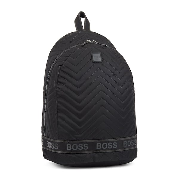 BOSS Pixel Quilted Backpack