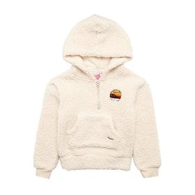 Pullover à Capuche Rip Curl Bombora Polar Fleece - Whisper Pink