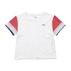 Rip Curl Wendy Girls Short Sleeve T-Shirt - White