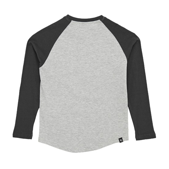 Rip Curl Rainbow Raglan Boys Long Sleeve T-Shirt