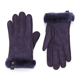 Gants UGG Shorty With Leather Trim - Nightshade