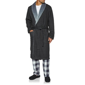 Dressing Gown UGG Robinson - Black Heather