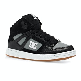 Chaussures DC Pure High Top - Black Grey